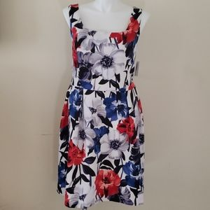 Luxe By Carmen Marc Valvo FLORAL dress